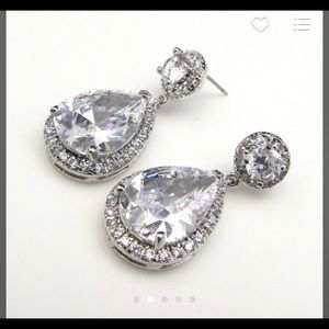 Jewelry - Tarnish resistant, high quality CZ earrings